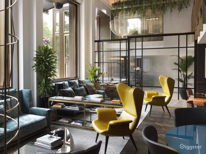 Upscale Edwardian Hotel in London