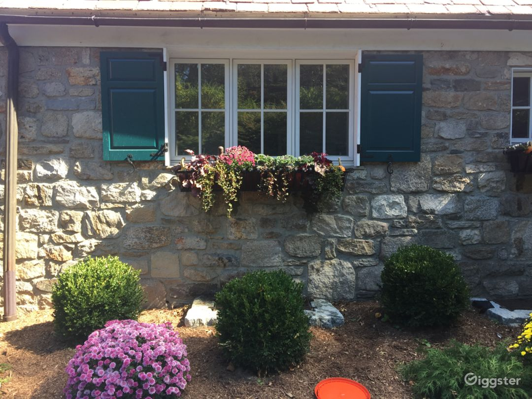 Classic French Inspired Stone House in Connecticut Photo 1