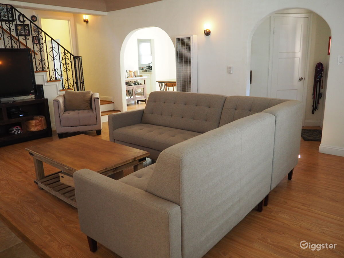 Spanish Style Two Story Home In Leimert Park Residential Filming Location  In Los Angeles, CA