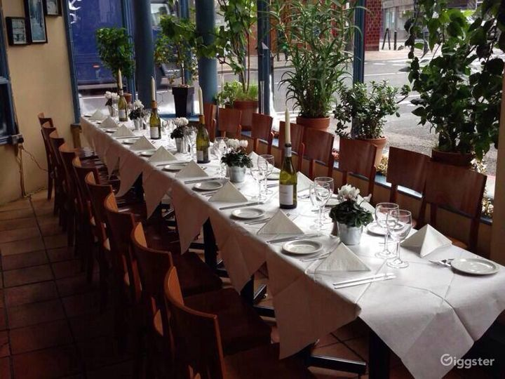 French Restaurant with Romantic Setting - Buyout Photo 2