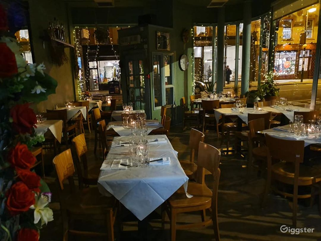 French Restaurant with Romantic Setting - Buyout Photo 1