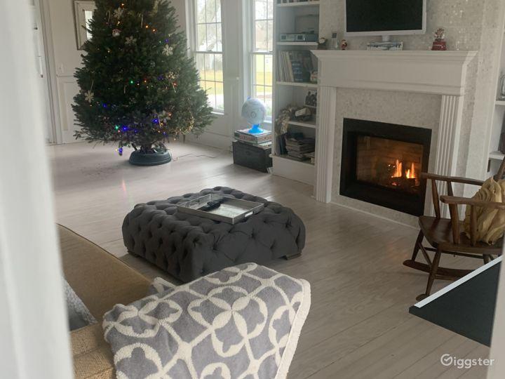 Den at Christmas