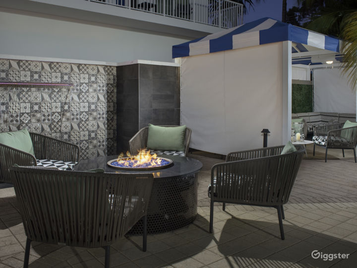 Outdoor Seating Pool Area