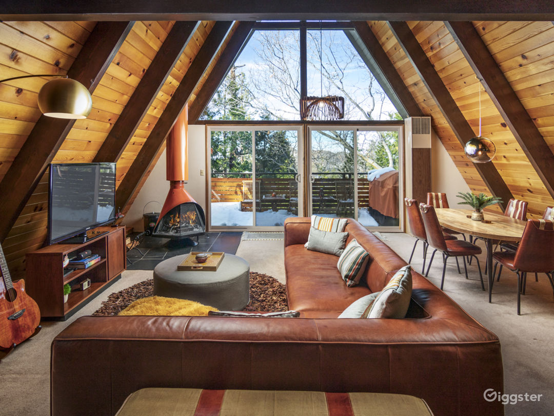 Groovy A-Frame | Lake Arrowhead  Photo 3