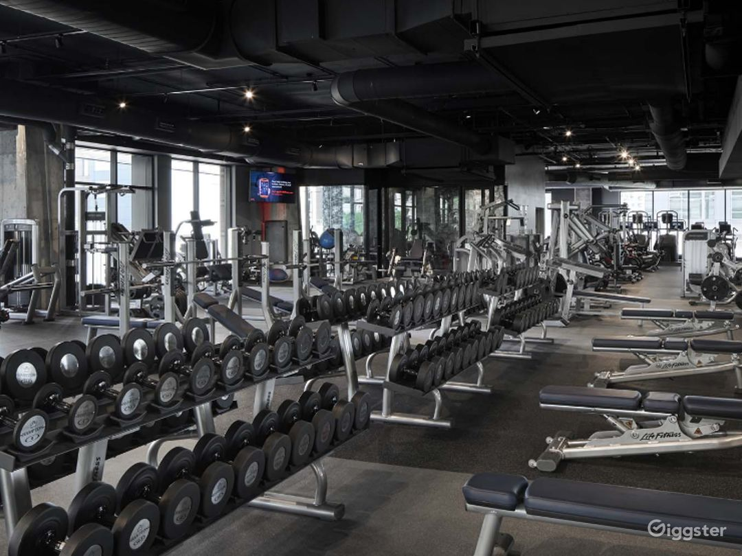 Modern Design with Luxury Finishes & Furnishings Fitness Center at Ballston, Arlington  Photo 1