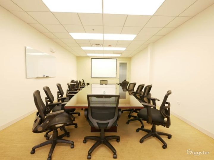 Clean and Complete Boardroom/Conference Meeting Venue w/ Screen, Handicap & 24/7 access Photo 3