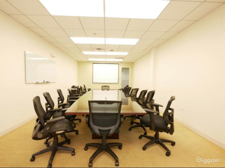 Clean and Complete Boardroom/Conference Meeting Venue w/ Screen, Handicap & 24/7 access Photo 4