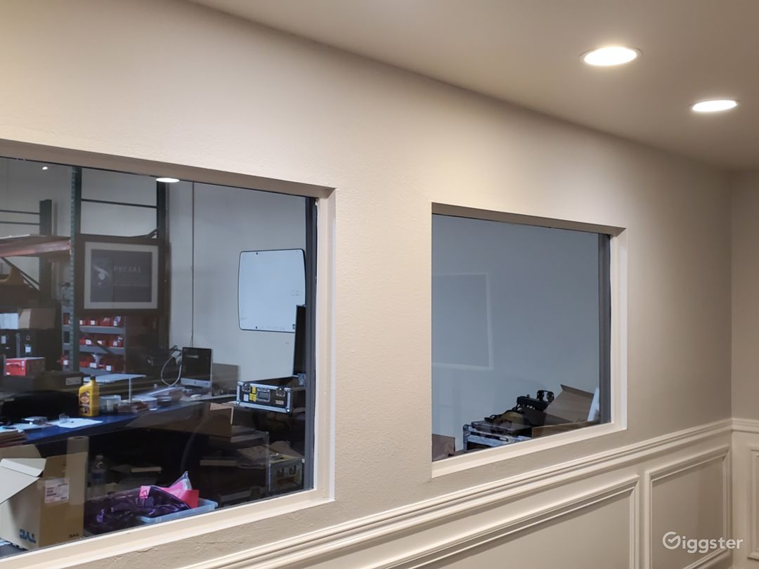Conference Room windows to warehouse