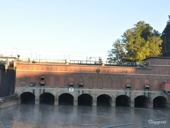 Hydroelectric Dam on the Tallulah River Photo 2