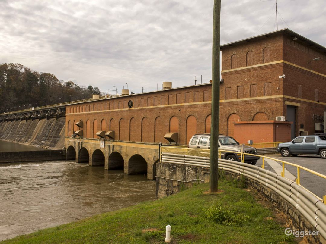 Hydroelectric Dam on the Tallulah River Photo 1