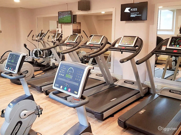 Hotel Gym with Cardio and Resistance Equipment in York