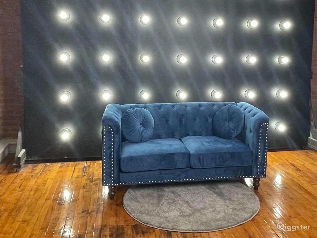 Downtown Loft Studio with Lightwall & Grand Piano Photo 1