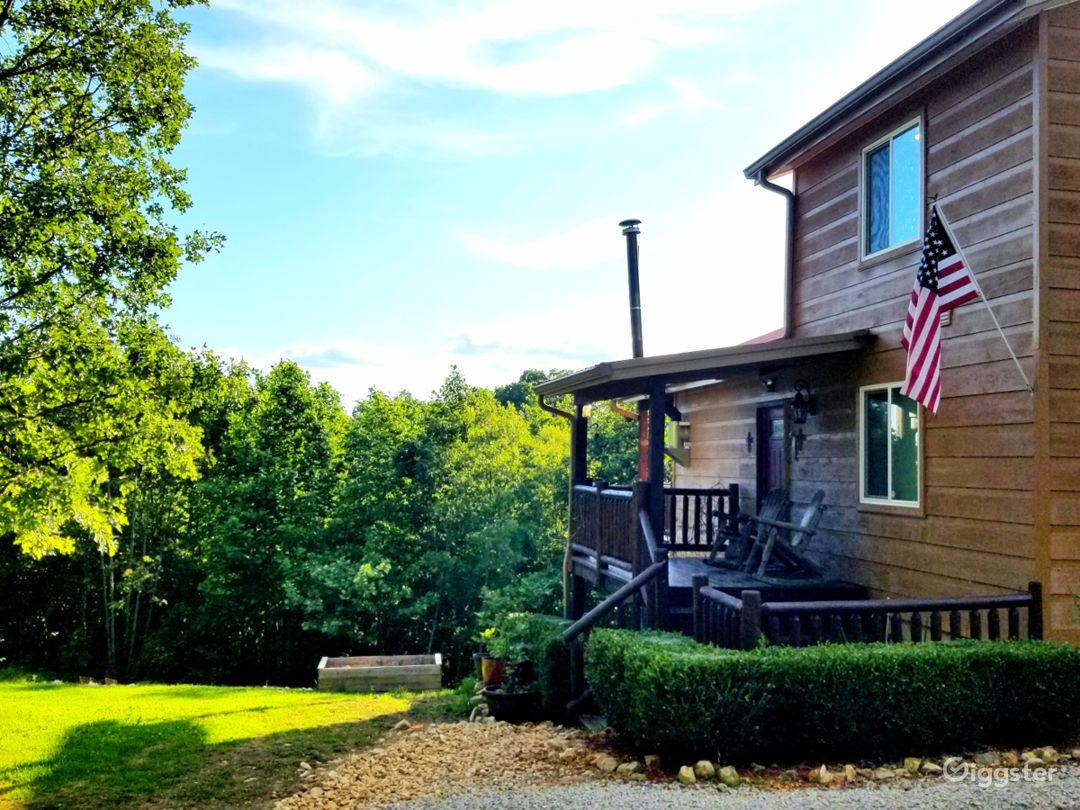 Cedar Log Cabin Photo 1