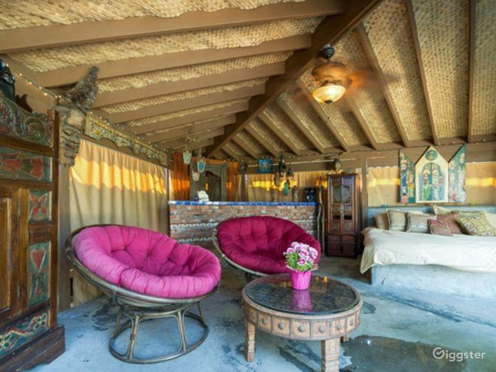 Interior cabana