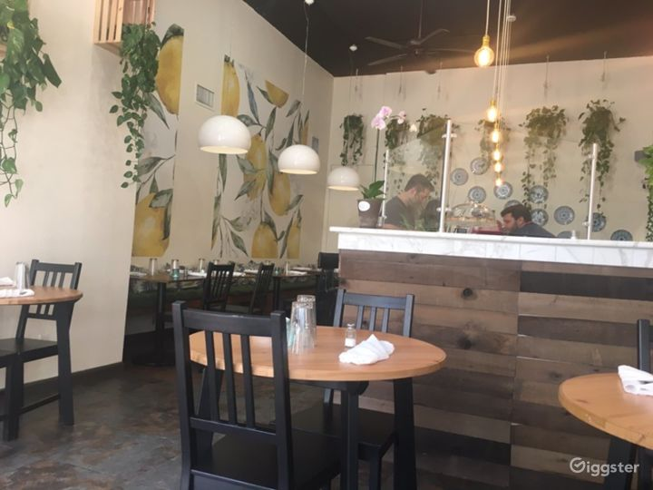 Stylish Italian Restaurant in San Diego