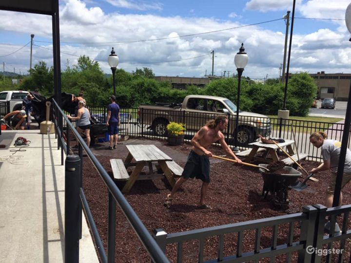 Outdoor Patio Space at the Brewery Photo 4