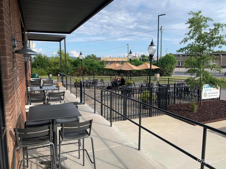 Outdoor Patio Space at the Brewery Photo 2
