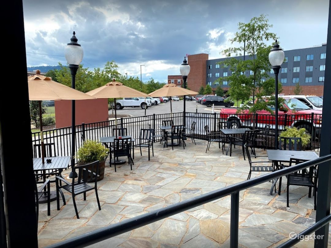 Outdoor Patio Space at the Brewery Photo 1