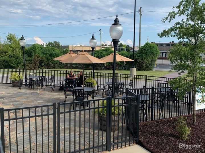 Outdoor Patio Space at the Brewery Photo 3