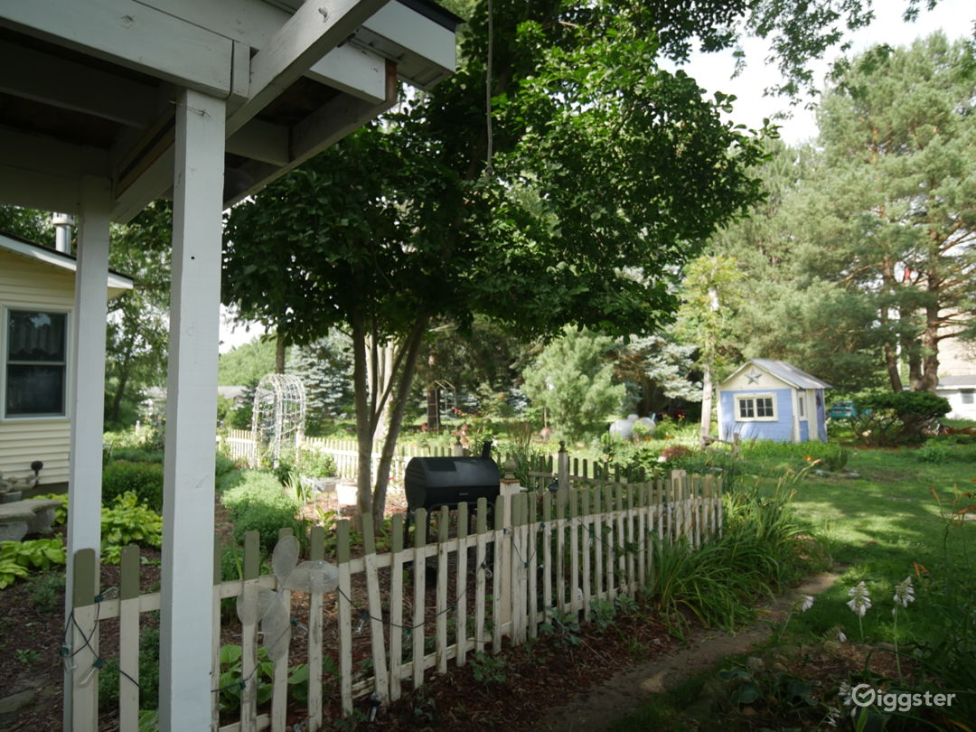 Farm Garden Area with lots of little buildings.  Photo 1