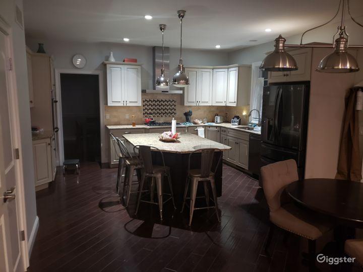 Kitchen island open kitchen