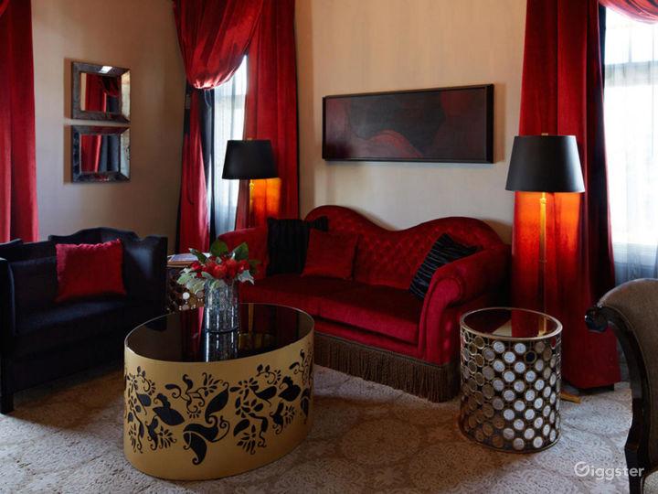 Presidential Suite in Elegant Hotel