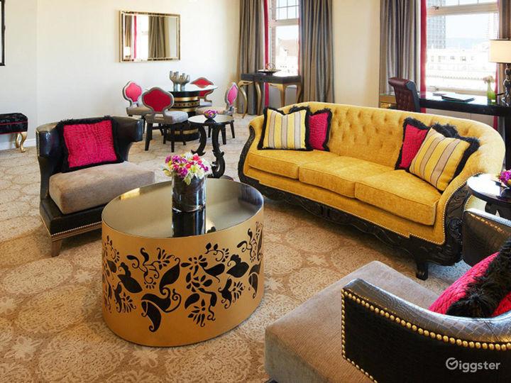Presidential Suite in Elegant Hotel Photo 4
