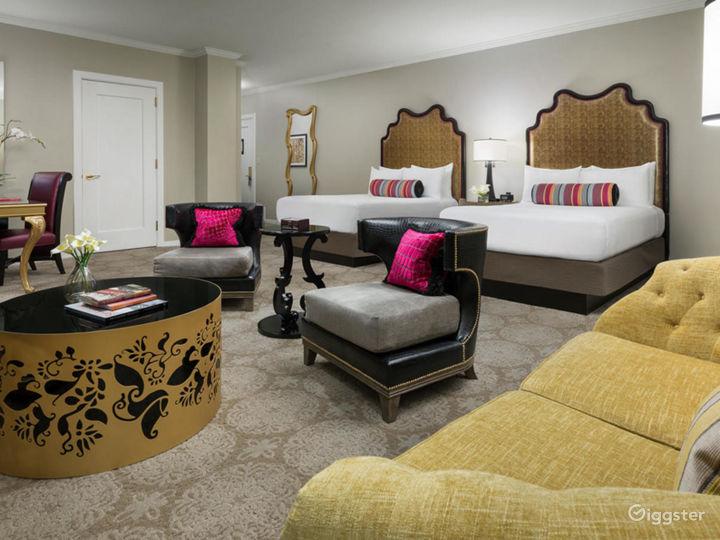 Presidential Suite in Elegant Hotel Photo 2