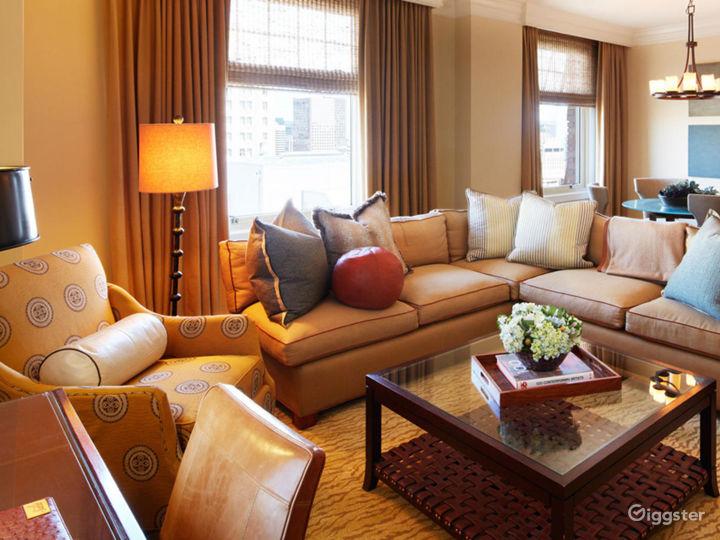 Presidential Suite in Elegant Hotel Photo 3