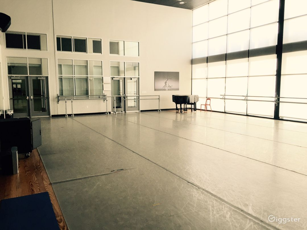 Beautiful Windowed Dance Studio Photo 1