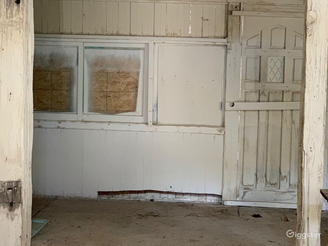 A glimpse inside the creepy house
