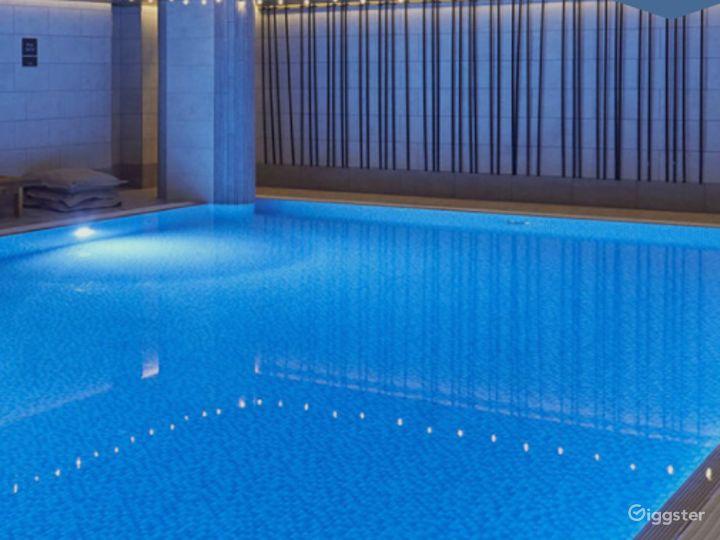 A Relaxing Hotel Pool in Edinburgh