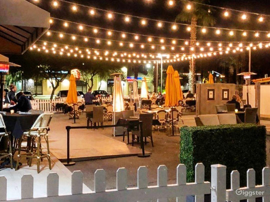 Outdoor/Patio Events Venue  Photo 1