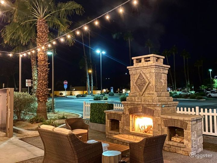 Outdoor/Patio Events Venue  Photo 2