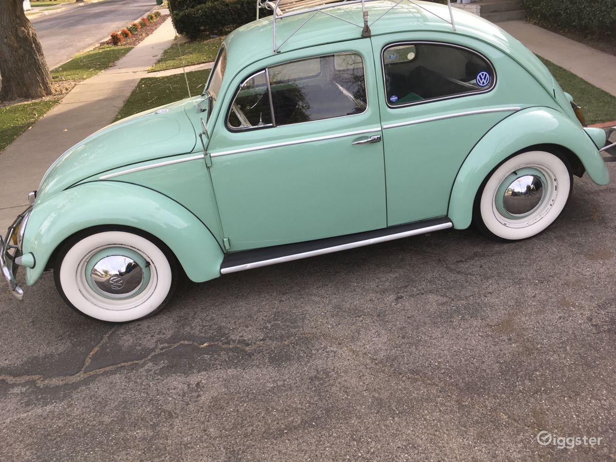 The Car Transportation 1956 Volkswagen Vw Bug Beetle For Film