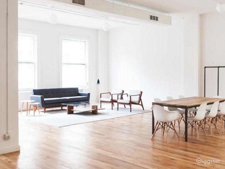 Minimalist Living & Dining Area Photo 5