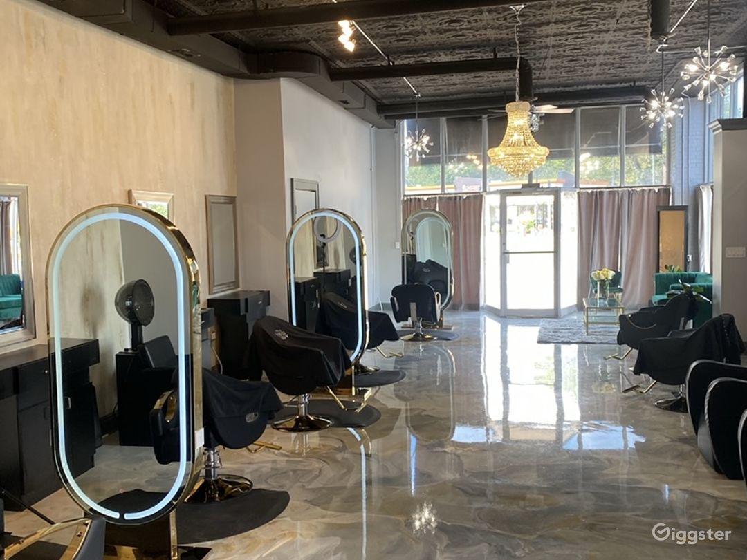 Beautiful fully furnished salon