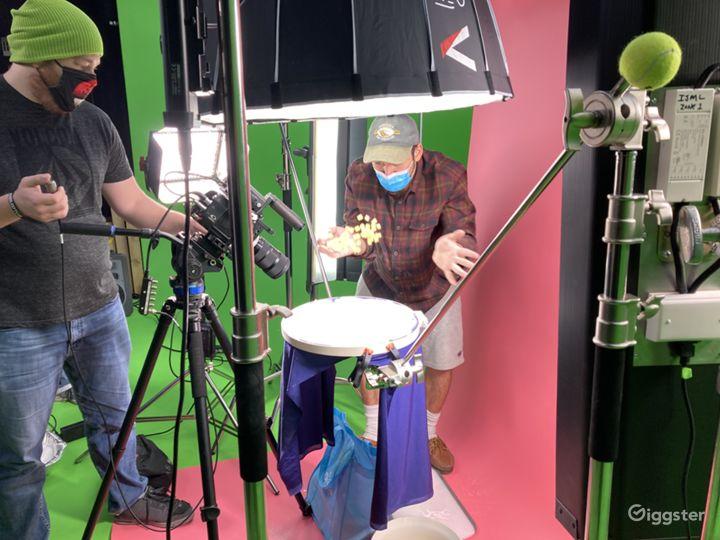 Film complex product shots