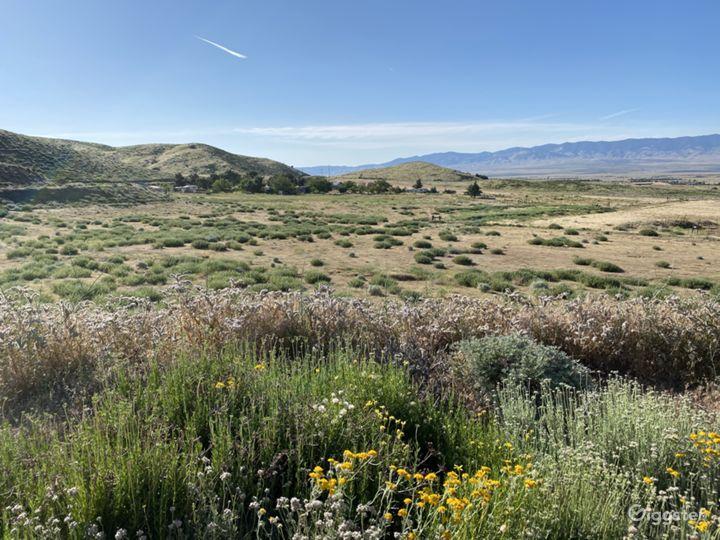 June 2020 - north facing ranch view