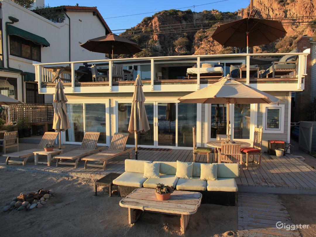 Malibu Private Beach House  Photo 2