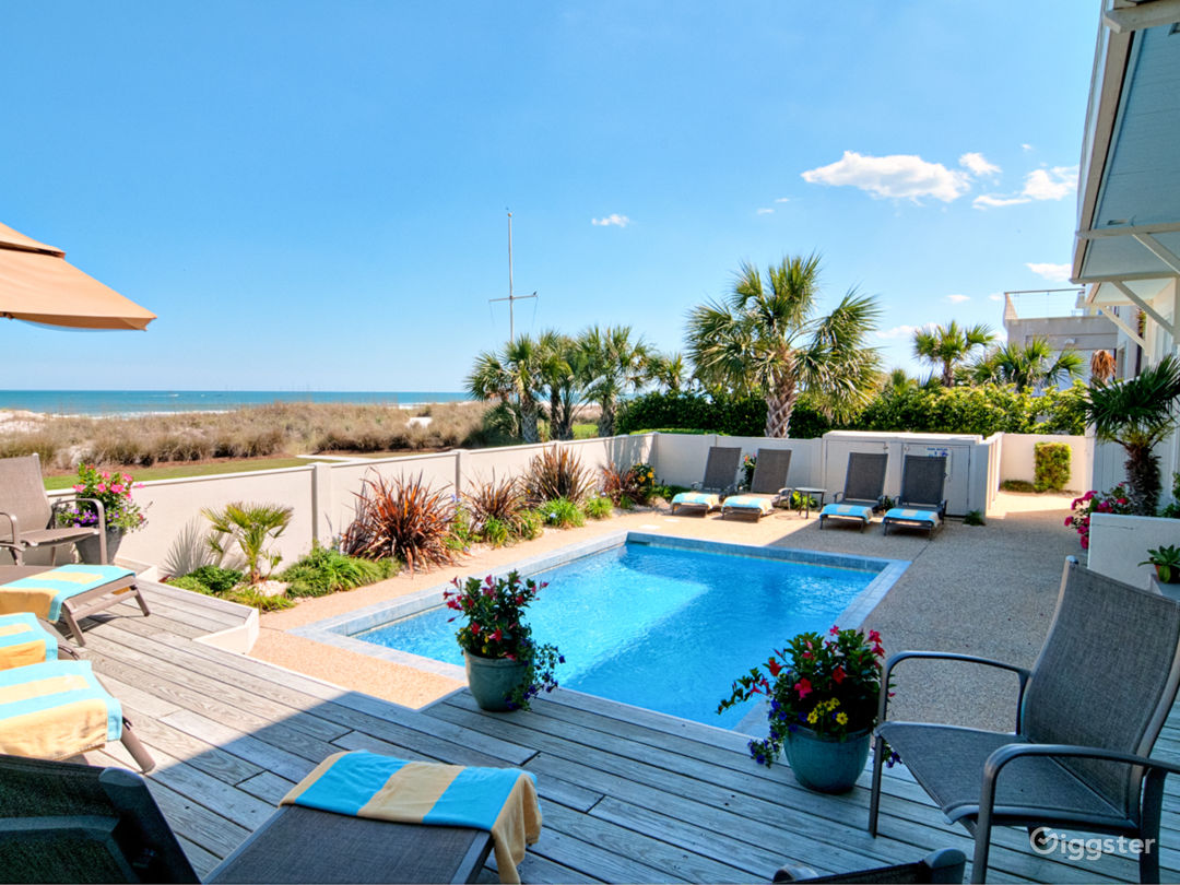 Luxury Oceanfront Estate Wrightsville Beach. Views Photo 4