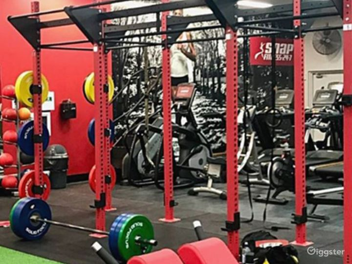 Fully Equipped Indoor Gym for Health Enthusiasts Photo 4