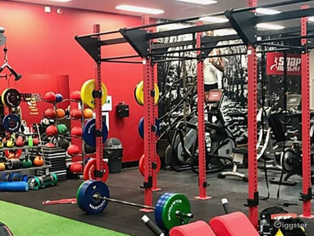 Fully Equipped Indoor Gym for Health Enthusiasts Photo 1