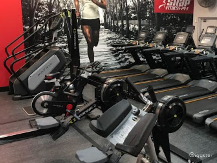 Fully Equipped Indoor Gym for Health Enthusiasts Photo 3
