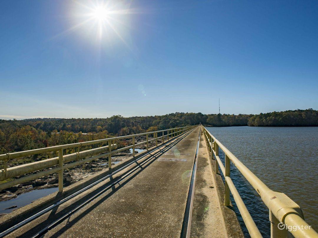 Chattahoochee River Dam Photo 1