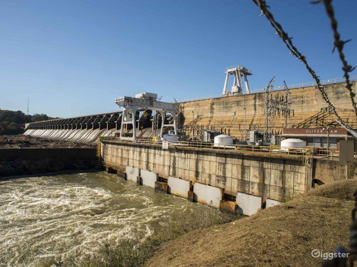 Chattahoochee River Dam Photo 2