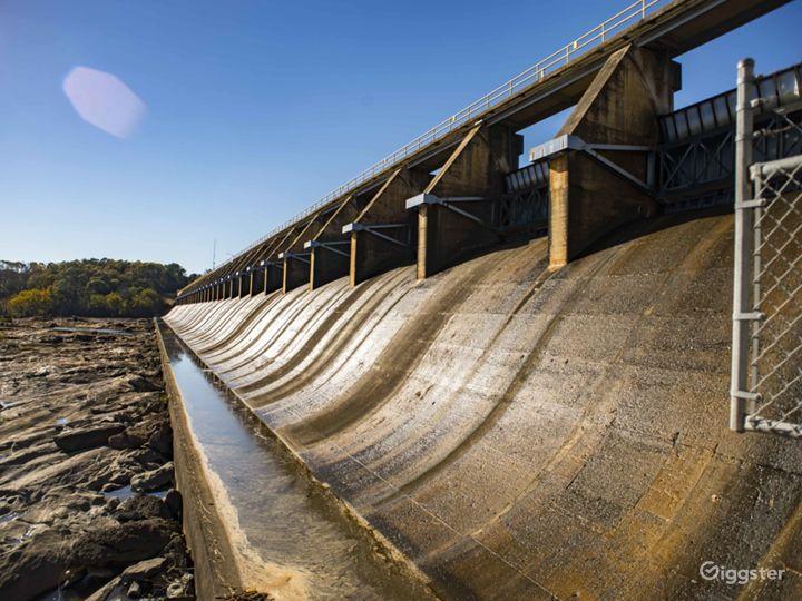 Chattahoochee River Dam Photo 3