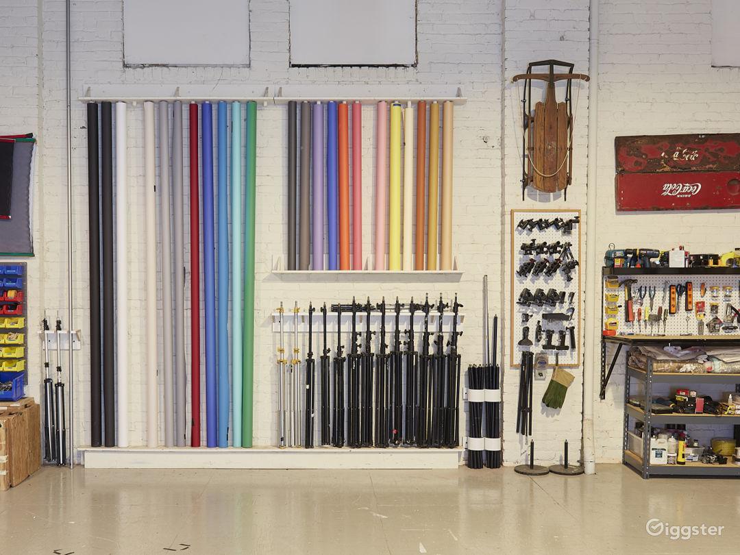3400 sq ft STUDIO w/ VAULTED CEILINGS & PROP ROOM Photo 5