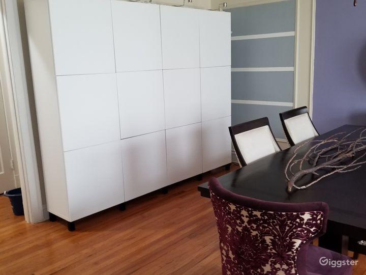 Modern storage unit
