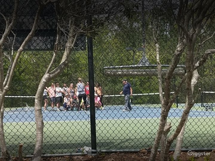 A Beautiful Tennis Court in Raleigh Photo 5